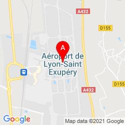 Mapa Aereopuerto Saint Exupery