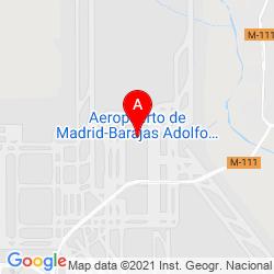 Mapa Aeropuerto Adolfo Suárez Madrid-Barajas