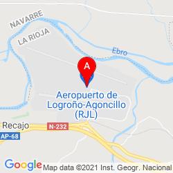 Mapa Aeropuerto De Logroño Agoncillo