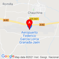 Mapa Aeropuerto Federico Garcia Lorca