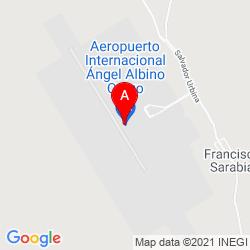 Mapa Aeropuerto Internacional Ángel Albino Corzo (TGZ)