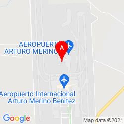 Mapa Aeropuerto Internacional Arturo Merino Benítez
