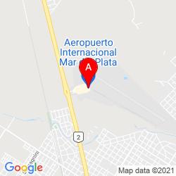 Mapa Aeropuerto Internacional Ástor Piazzolla