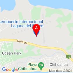 Mapa Aeropuerto Internacional Capitan Corbeta CA Curbelo