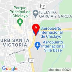 Mapa Aeropuerto Internacional Capitán FAP José A. Quiñones