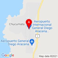 Mapa Aeropuerto Internacional Diego Aracena