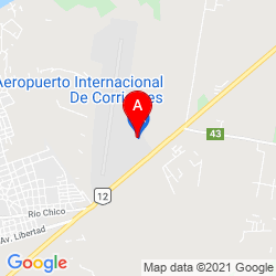 Mapa Aeropuerto Internacional Doctor Fernando Piragine Niveyro