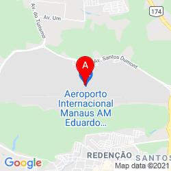 Mapa Aeropuerto Internacional Eduardo Gomes