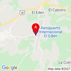 Mapa Aeropuerto Internacional El Edén La Tebaida, Quindío Colombia