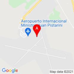 Mapa Aeropuerto Internacional Ezeiza