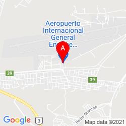 Mapa Aeropuerto Internacional General Enrique Mosconi