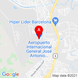 Mapa Aeropuerto Internacional General José Antonio Anzoátegui