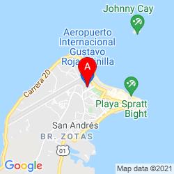 Mapa Aeropuerto Internacional Gustavo Rojas Pinilla