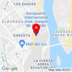 Mapa Aeropuerto Internacional José Joaquín de Olmedo