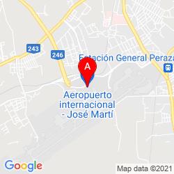 Mapa Aeropuerto Internacional José Martí