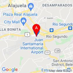 Mapa Aeropuerto Internacional Juan Santamaría
