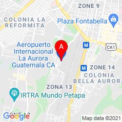 Mapa Aeropuerto Internacional La Aurora