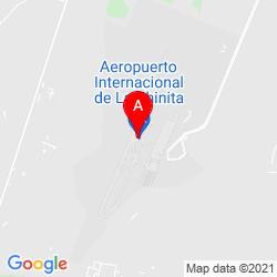 Mapa Aeropuerto Internacional La Chinita