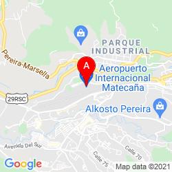 Mapa Aeropuerto Internacional Matecaña