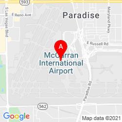 Mapa Aeropuerto Internacional McCarran