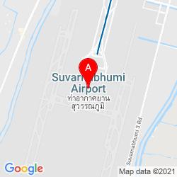 Mapa Aeropuerto Internacional Suvarnabhumi