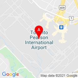 Mapa Aeropuerto Internacional Toronto Pearson