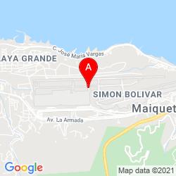Mapa Aeropuerto Internacional de Maiquetía Simón Bolívar