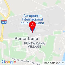 Mapa Aeropuerto Internacional de Punta Cana