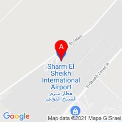 Mapa Aeropuerto Internacional de Sharm el-Sheij