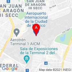 Mapa Aeropuerto Internacional de la Ciudad de México