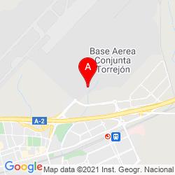 Mapa Aeropuerto Militar de Madrid-Torrejón