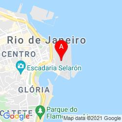 Mapa Aeropuerto Santos Dumont