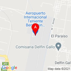 Mapa Aeropuerto Tte. Benjamín Matienzo