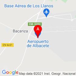 Mapa Aeropuerto de Albacete