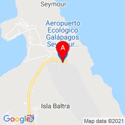 Mapa Aeropuerto de Baltra