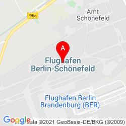 Mapa Aeropuerto de Berlín-Schönefeld