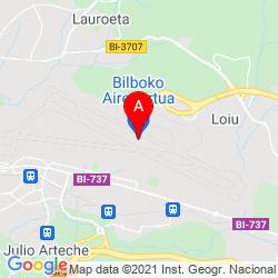 Mapa Aeropuerto de Bilbao