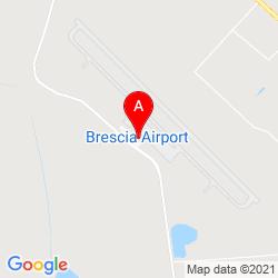 Mapa Aeropuerto de Brescia