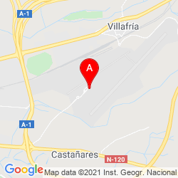 Mapa Aeropuerto de Burgos