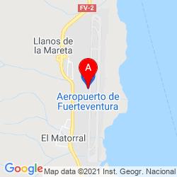 Mapa Aeropuerto de Fuerteventura