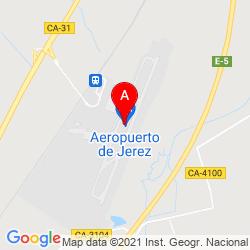 Mapa Aeropuerto de Jerez