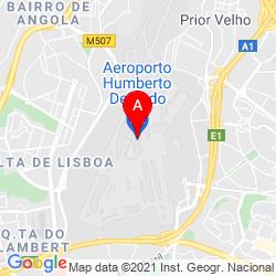 Mapa Aeropuerto de Lisboa Portela (LIS)