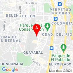 Mapa Aeropuerto de Medellín