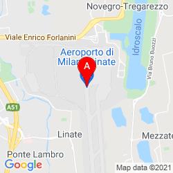 Mapa Aeropuerto de Milán-Linate