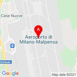 Mapa Aeropuerto de Milán-Malpensa