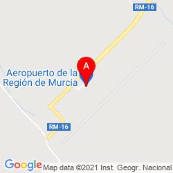 Mapa Aeropuerto de Murcia-San javier