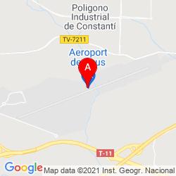 Mapa Aeropuerto de Reus