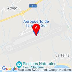 Mapa Aeropuerto de Tenerife Sur