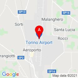 Mapa Aeropuerto de Turín - Caselle
