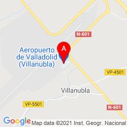 Mapa Aeropuerto de Valladolid